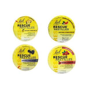 Rescue Pastilles flavours