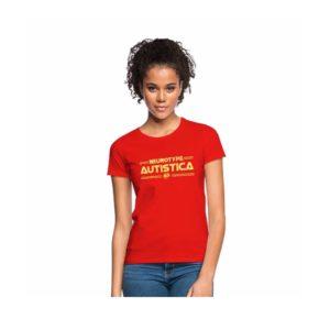 Neurotype Autistica women's t-shirt